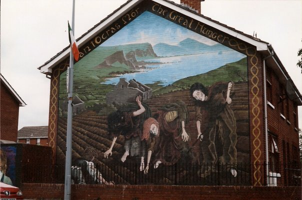 Belfastgreathunger sinamatic salve ation for Mural irlande
