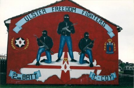 Then there's the UFF murals. Scary, intimidating, also intense. It was a real distinct change to go from one type of mural to the other.