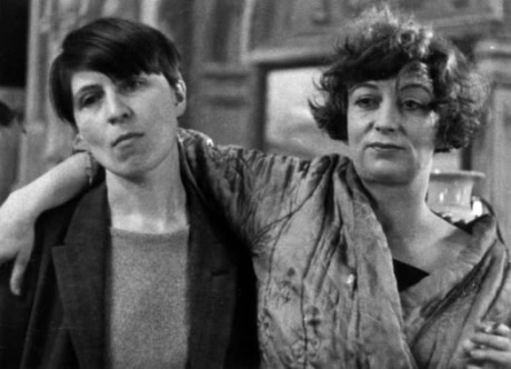 Bryher and H.D. filming Borderline (1930). Bryher played the Manageress & H.D. played Astrid