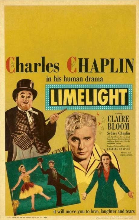 (1952, d. Charles Chaplin, 137m, 35mm)   2:30 PM Chinese Multiplex House 6