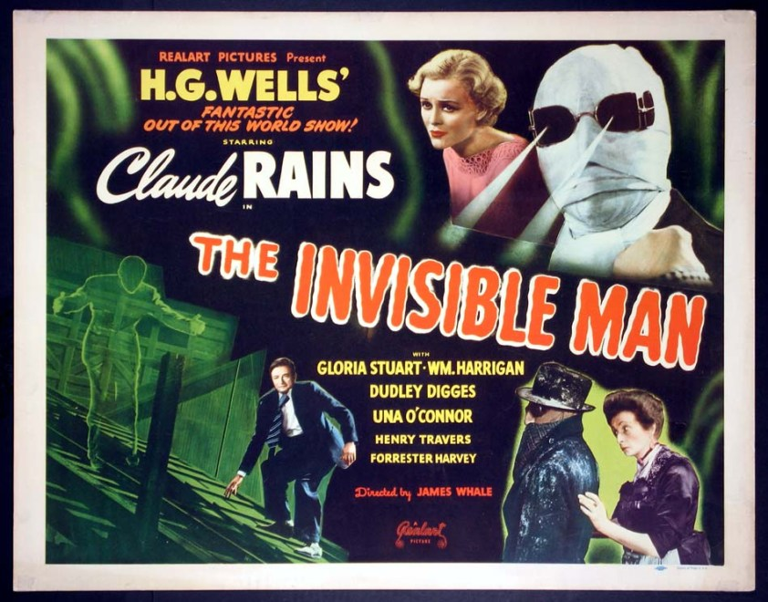 (1933, d. James Whale, 71 m, 35mm) 7:30 PM Chinese Multiplex House 4