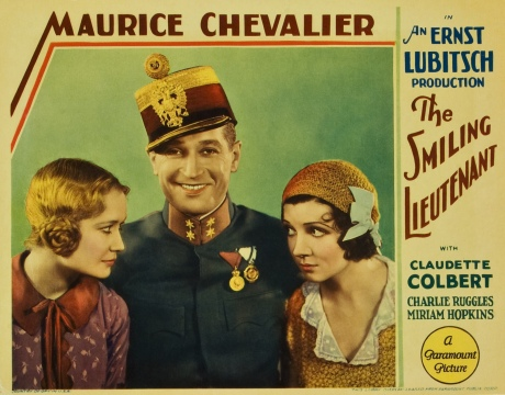 (1931, d. Ernst Lubitsch, 93m, 35mm) 9:30 AM Chinese Multiplex House 4