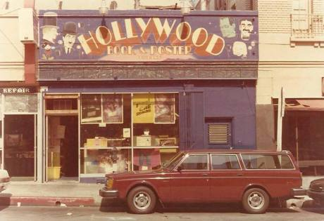 Original storefront for Hollywood Book & Poster
